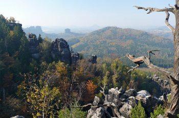 Die Sächsische Schweiz - Schrammsteinblick