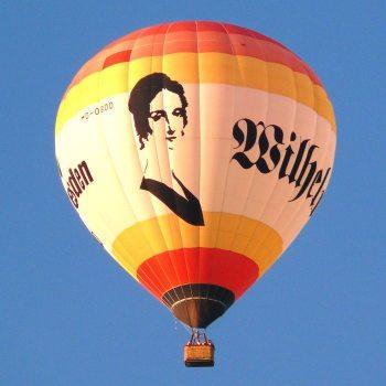 Wilhelmine Reichard Heißluftballon