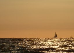 Abendstimmung am Ostseestrand