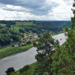 Ausblick nach Pötzsche - Wehle