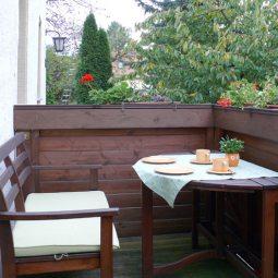 Balkon Ferienwohnung Bergmann
