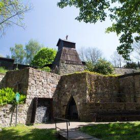 Besucherbergwerk im Schlossgarten