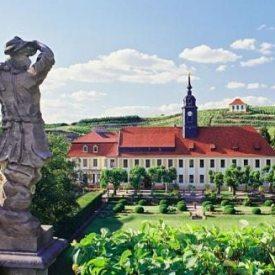 Blick auf Schloss