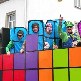 Computerspiele zum Radeburger Karnevalsumzug
