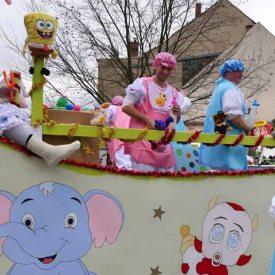 Ebersbacher Satansbraten zum  Radeburger Karnevalsumzug