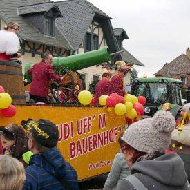 FCV Großenhain zum Radeburger Karnevalsumzug