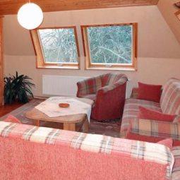 Ferienhaus Freitag Wohnzimmer