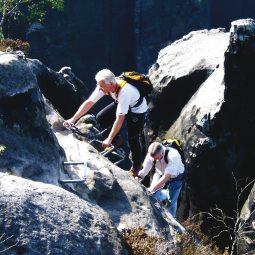 geführte Klettersteigtouren