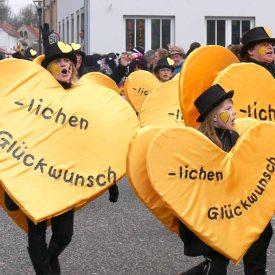 Glückwünsche zum 60. Radeburger Karnevalsumzug