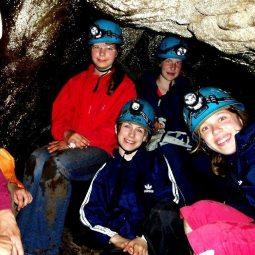 Höhlenerkundung im Elbsandsteingebirge