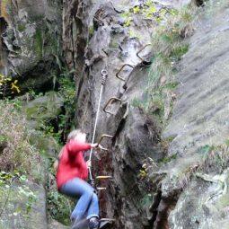 Klettersteig Häntzschelstiege
