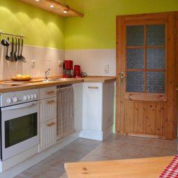 Küche Ferienwohnung Bergmann