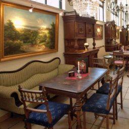 Kunst Café Antik - gemütliches