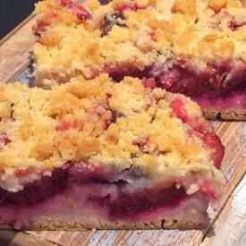 Pflaumenkuchen vom Blech - Bäckerei Krahl