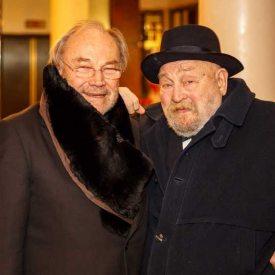 Rolf Hoppe + Klaus Maria Brandauer