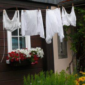 Wäsche ist fertig
