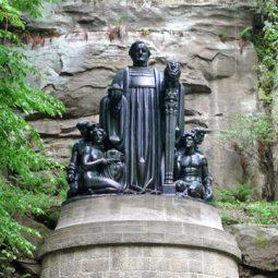 Wagner-Denkmal im Liebethaler