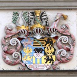 Wappen - Detail an einem Bürge