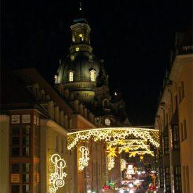 Weihnachtsmarkt Münzgasse Dresden