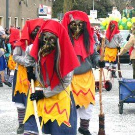 Wetterhexa Altusried zum Radeburger Karnevalsumzug
