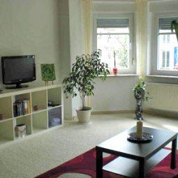 Wohnzimmer Ferienwohnung Kurcz