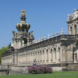 Zwinger Dresden mit Kronentor