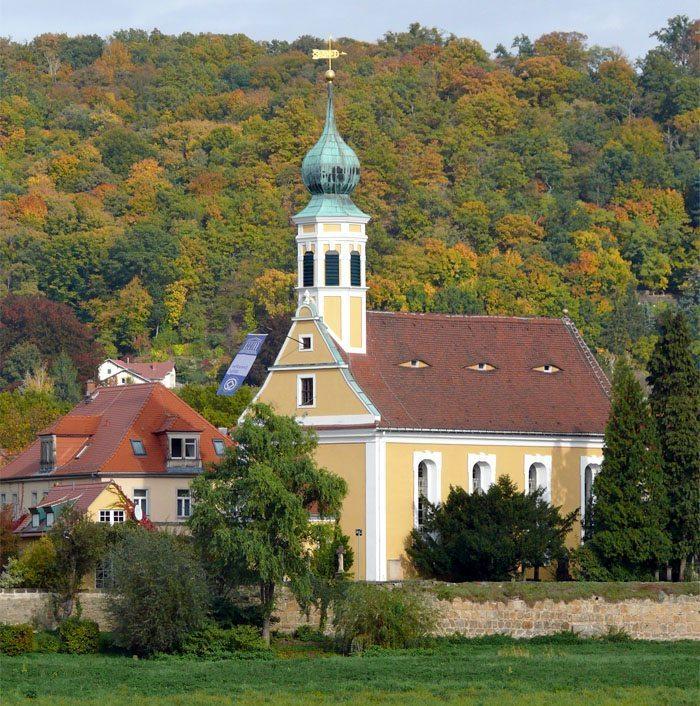 Kirche Maria am Wasser in Hosterwitz