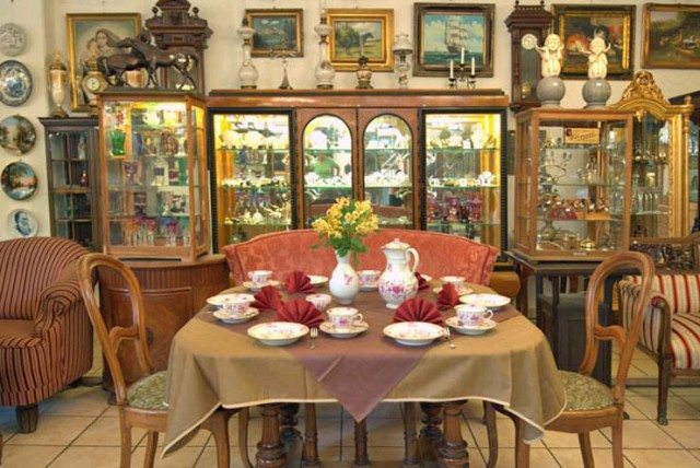 kunst cafe antik kaffeetrink