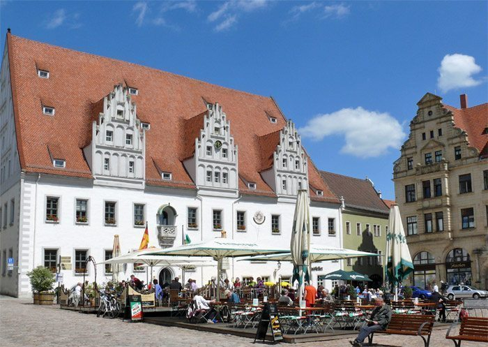 Marktplatz in Meißen