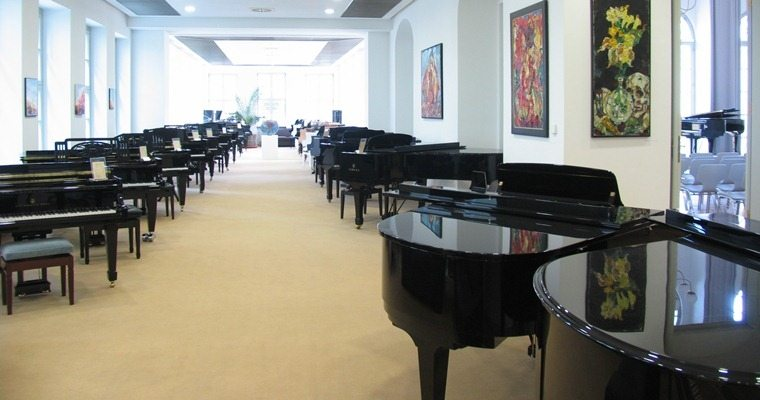 Pianosalon Ausstellung
