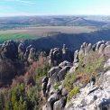 Ausblick von den Schrammsteine