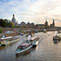 Dampferparade Dampfschiff-Fest Dresden