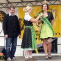 Erntekönigin auf dem Großenhainer Bauernmarkt