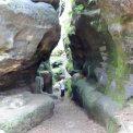 Felsenlabyrinth in der Sächsis
