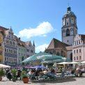 Frauenkirche und Marktplatz in