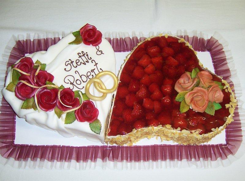 Hochzeitstorten für jedes Brautpaar von der Bäckerei & Konditorei ...